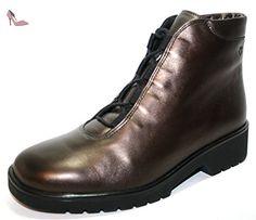 Ganter ellen 6–205511 d'hiver pour femme, bottes & bottines largeur g - Marron - Braun (kupfer), 37 EU / 4.5 UK - Chaussures ganter (*Partner-Link)