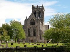 Paisley Abbey, Scotland. Burial site of my 21st great grandmother, Marjorie Bruce.  Daughter of Robert the Bruce and Isabella of Mar.