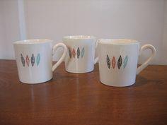 Marcrest Nordic Mint Coffee Mugs