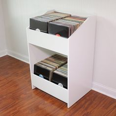 meuble vinyle : Le stand vinyles LP BIN