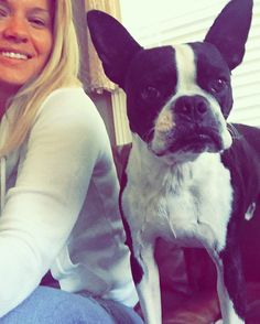 I'm #Xander I #love #selfies & this blondie here loves me a lot  Morning #dogsofinstagram #bostonterrier #bostonbullterrier #bostonterriersofinstagram by advertisechaos
