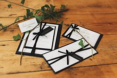 Gold Foiling Wedding Stationery Ideas and Inspiration. Using a classic combination of black and white with gold.  Wedding Stationery: Part of the 'EMPEROR' collection by Paper Date.  Photography: Aurelia Allen Photography Decor and Flowers: Lumi Event Design