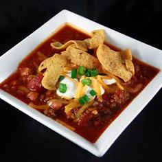 This looks like a great, yet time consuming, chili recipe.
