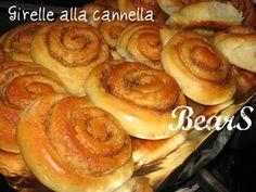 Una ricetta al giorno ...: GIRELLE ALLA CANNELLA
