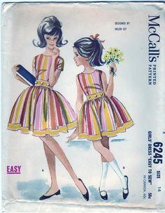 Mccalls 6245a vintage 1962 Helen Lee