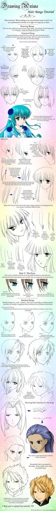 Apprendre à dessiner Manga cheveux dessin cheveux frange Tut, Anime cheveux tutoriel, Page 8 de Tentopet sur deviantART, comment dessiner les cheveux d'anime, mignon, kawaii anime gens, coiffures de dessin, anime japonais tut 3740                                                                                                                                                      Plus