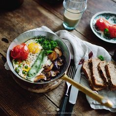 Baked eggs with vegetables from What Should I Eat For Breakfast Today