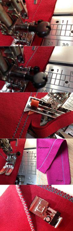 Как шить трикотаж на швейной машинке: 5 способов — Мастер-классы на BurdaStyle.ru