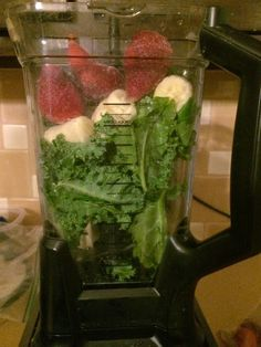Latter Day Modesty- Strawberry Kale smoothie