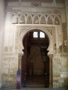 Portada mezquita aljaferia - Palacio de la Aljafería -Zaragoza