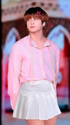 Kookie Bts, Taekook, Baby Boy, Fantasy, Boys, Style, Fashion, Collages, Skirt