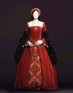 Change the sleeves and this is the basic dress. Note the white band around the neck. Like?