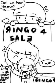 So totes adorb  ringo is so cute in these drawings!!!#LOVIN IT!!!