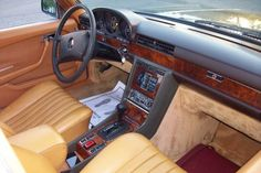 Reference: 1979 Mercedes 450SEL 6.9 For Sale Interior