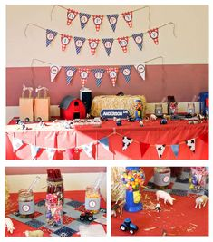 vintage tractors Birthday Party Ideas   Photo 3 of 21   Catch My Party