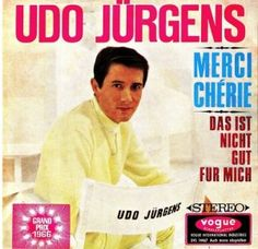 """Udo Jürgens - """"Merci Chérie"""", the winning song of the Eurovision Song Contest 1966"""