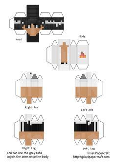 Minecraft Templates, Pixel Art Templates, Minecraft Art, Minecraft Crafts, Minecraft Designs, Minecraft Skins, Papercraft Minecraft Skin, Smoke Drawing, Anime Crafts