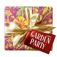 Know someone who always finds the time to stop and smell the roses? Garden Party is like a bouquet in a box. Open up its beautiful botanical gift wrap to reveal two limited-edition products and two year-round floral favorites that contain the finest essential oils derived from roses, lavender, and elderflowers. They'll do a body--and mind--a whole lotta good.