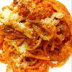 お客様からのリクエストでした!ローマ料理です - 60件のもぐもぐ - アマトリチャーナ! by Chef 中川浩行