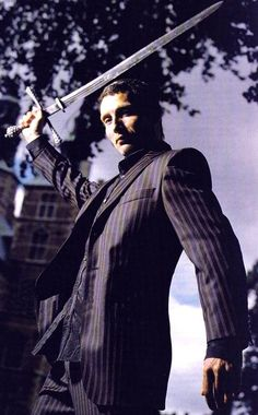 Mads Mikkelsen (okay, Hannibal with a sword is my new favorite everything!)