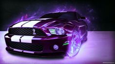 Purple Ford Mustang 2014...mystical fire not necessary :)