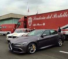 Nuova Alfa Romeo Giulia vs old Giulia Ferrari, Maserati, New Luxury Cars, Alfa Romeo Spider, Alfa Romeo Cars, Alfa Romeo Giulia, Best Muscle Cars, Car Images, New Trucks