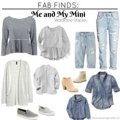 Fab Finds: Me and My Mini - Wardrobe Staples for mother/daughters