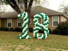 18th birthday balloons Birthday Balloons, Birthday Fun, 18th, Globes