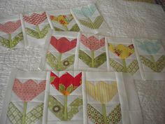 A Quilting Life: Tulips
