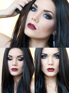 We all know winter is coming and the pale skin is upon us! This look is perfectly dramatic for holiday parties