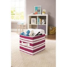 Better Homes And Gardens Collapsible Fabric Storage Cube Set Of 2 Multiple Colors Dorm 2k16 Pinterest Cubes