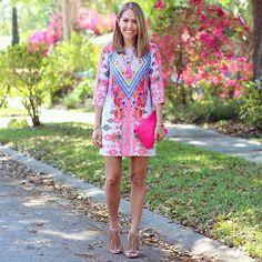 WEBSTA @ saiaunica - Linda #vestido #dress #look #estampa