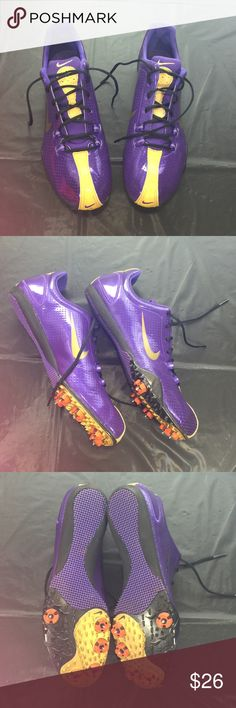 Nike Bowerman Series Track Shoes Worn 4 times and in superb condition. Very high quality track shoes. Nike Shoes Athletic Shoes