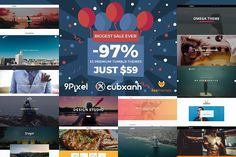 33 Premium Tumblr Themes - SAVE 97%. Business Infographic