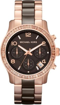 Michael Kors Women's MK5678 Runayaw Brown & Rose Gold Tone Stainless Steel Watch Michael Kors,http://www.amazon.com/dp/B0085F58PO/ref=cm_sw_r_pi_dp_3wNasb0ZKS96J9YN