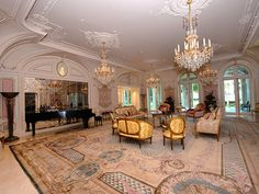 Architecture Luxury Interiors | RosamariaGFrangini || Music Room | 9577 Sunset Blvd | Beverly Hills, CA