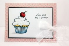Card created by Kecia Waters. Rubber stamps by Repeat Impressions. - http://www.repeatimpressions.com/pairings.html - #repeatimpressions #rubberstamps #cardmaking #pairings #bloghop
