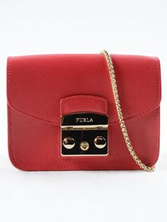 FURLA Furla Metropolis Mini Xbody. #furla #bags #shoulder bags #leather #