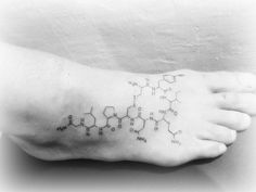 though chemistry lies outside of my realm of competence, and though i am far from a tattoo nut, i love the nerdy and artistic tattoo concept