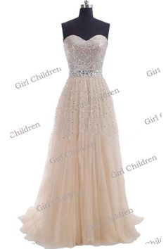 Sweetheart beaded bridesmaid dress long Prom by GirlChildren, $120.00