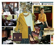 """""""Orient Express"""" by molnijax ❤ liked on Polyvore featuring Therapy, Tiffany & Co., Diane Von Furstenberg, Equipment, Tom Binns, Maison Boinet, BY SOPHIE, AllSaints, modern and lace"""