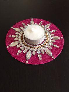 Tealight candle holderBollywood party favors Diwali Diya