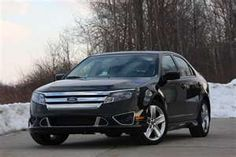 2012 Ford Fusion. It's my car-nothing fancy but I love it-I highly recommend a Ford Fusion!