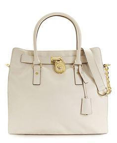 MICHAEL Michael Kors Handbag, Hamilton Tote with Gold Hardware - Handbags & Accessories - Macy's