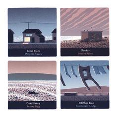 Pebble Island Landmarks : Jon McNaught