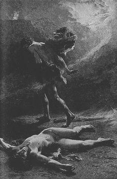 Léon Jean Basile Perrault, Cain kills Abel