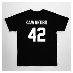 Tee Football KAWAKUBO42 Black - CLUB LES (ART)ISTS