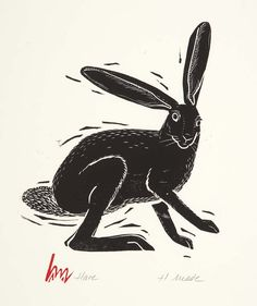 Holly Meade prints.... editioned and otherwise.... lino and woodblock