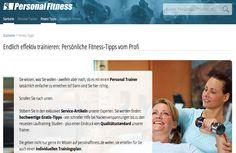 Jede Woche neu, jede Woche exklusiv und praktisch: Fitness-Tipps von erfahrenden und hoch qualifizierten Personal Trainern. Zu finden hier: http://www.personalfitness.de/lifestyle/ #fitness #lifestyle #personalfitness