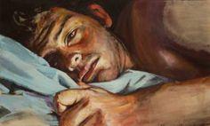 "Saatchi Art Artist Gabriel Molina; Painting, ""Self Portrait"" #art"